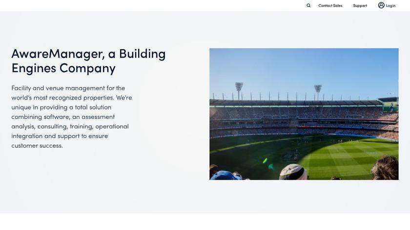 AwareManager Landing Page