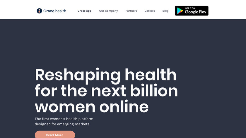 Grace Health Landing Page