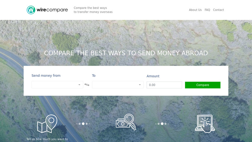 WireCompare.com Landing Page