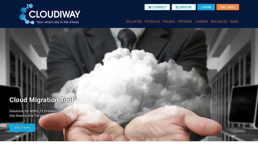 Cloudiway Landing Page