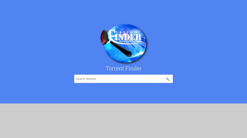 torrent-finder Landing Page