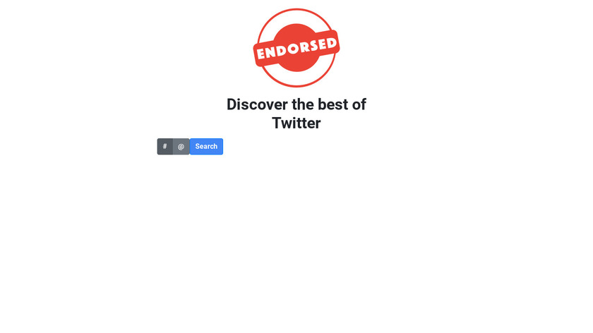 Endorsed.Club Landing Page