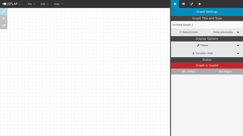 jsflap Landing Page