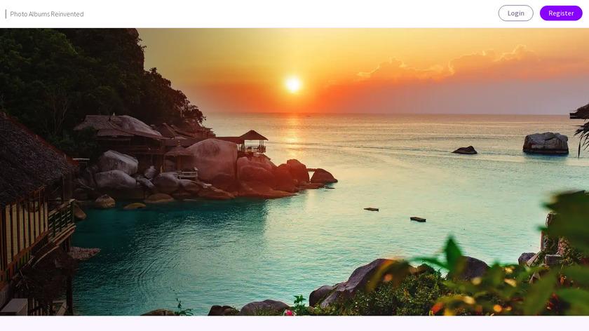 MyAlbum - Photo Albums Reinvented Landing Page