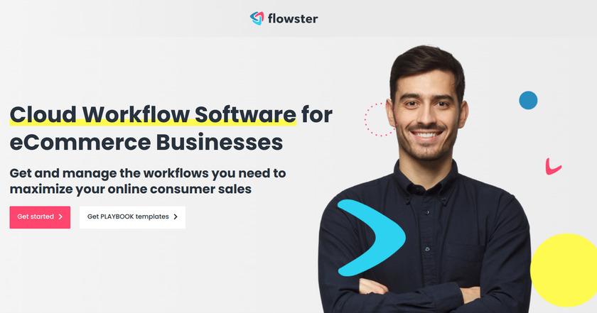 Flowster Landing Page