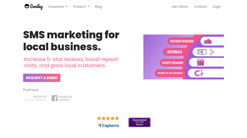 Smiley Landing Page