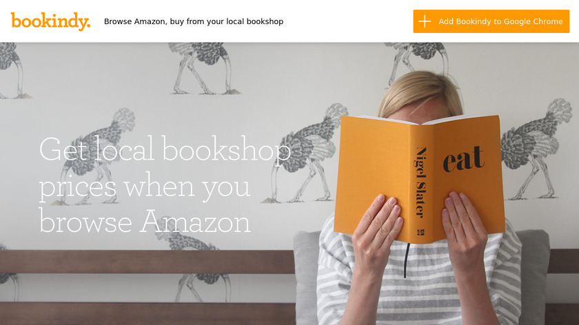 Bookindy Landing Page