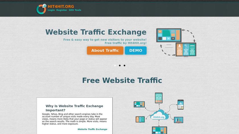 Hit4Hit Landing Page