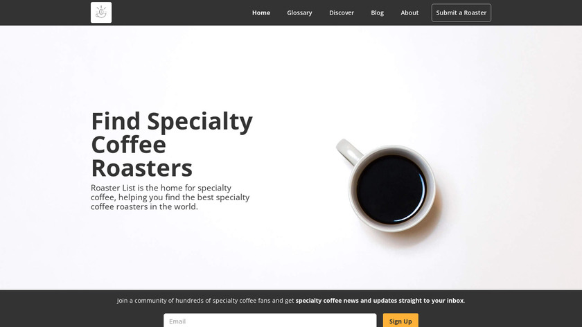 Roaster List Landing Page