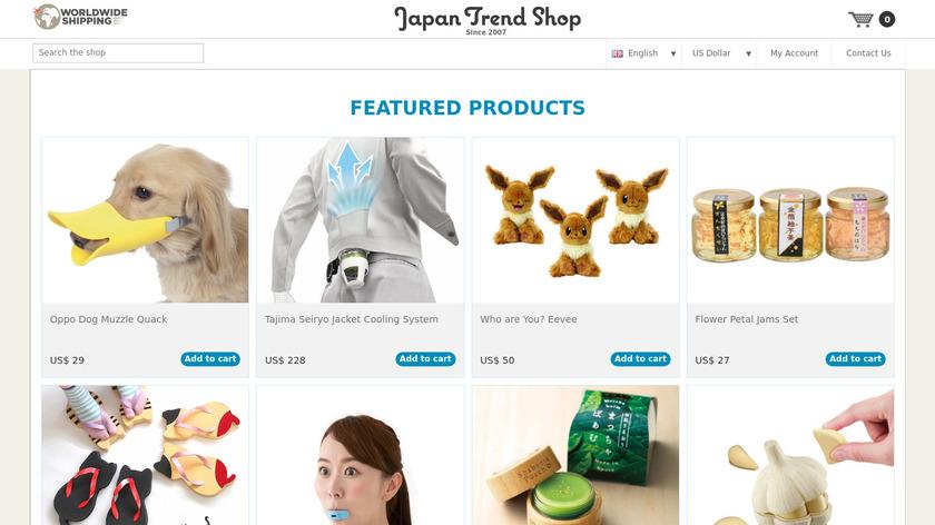 Japan Trend Shop Landing Page