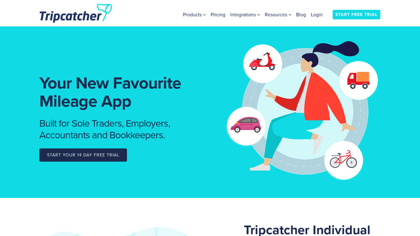 Tripcatcher Landing Page