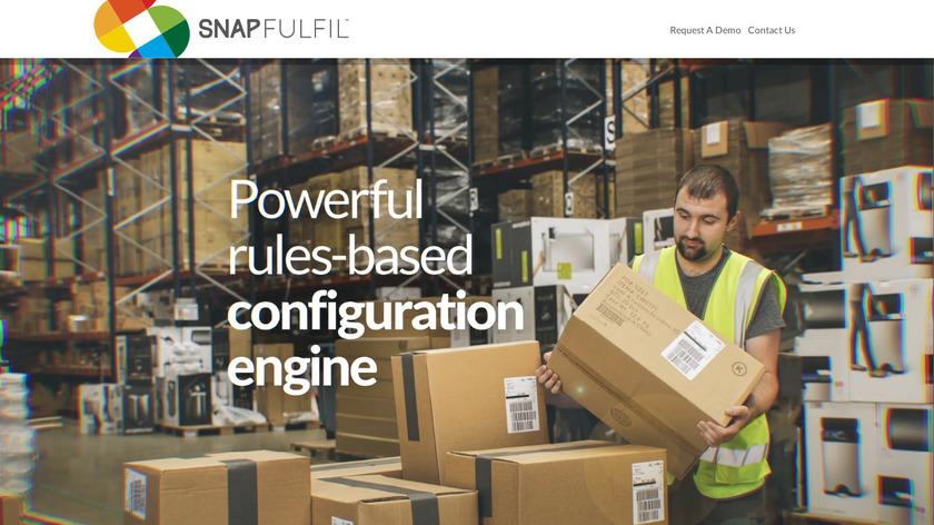 Snapfulfil Landing Page