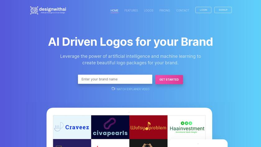 Designwithai Landing Page