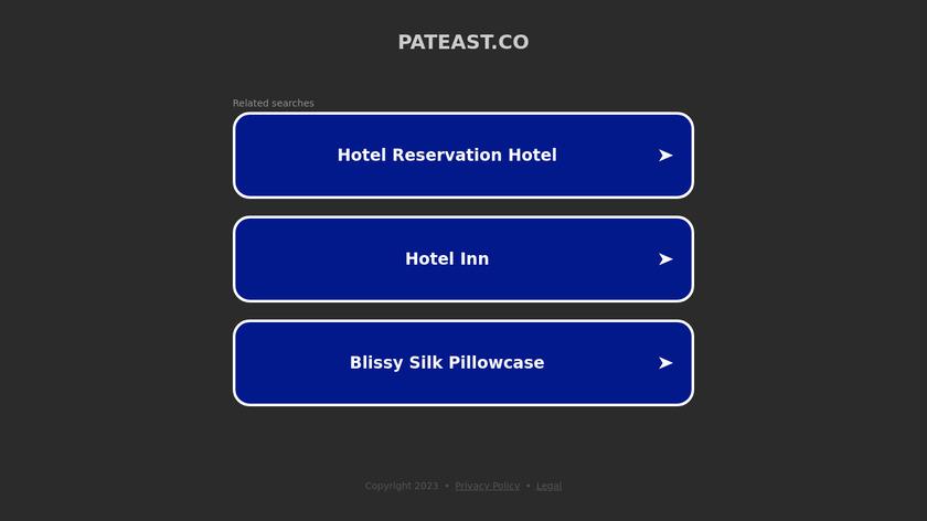 Pateast Edutech Software Landing Page