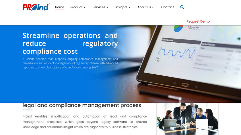 Proind Compliance Controller Landing Page