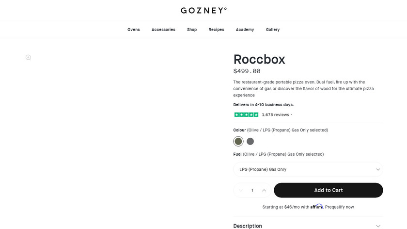 Roccbox Landing Page