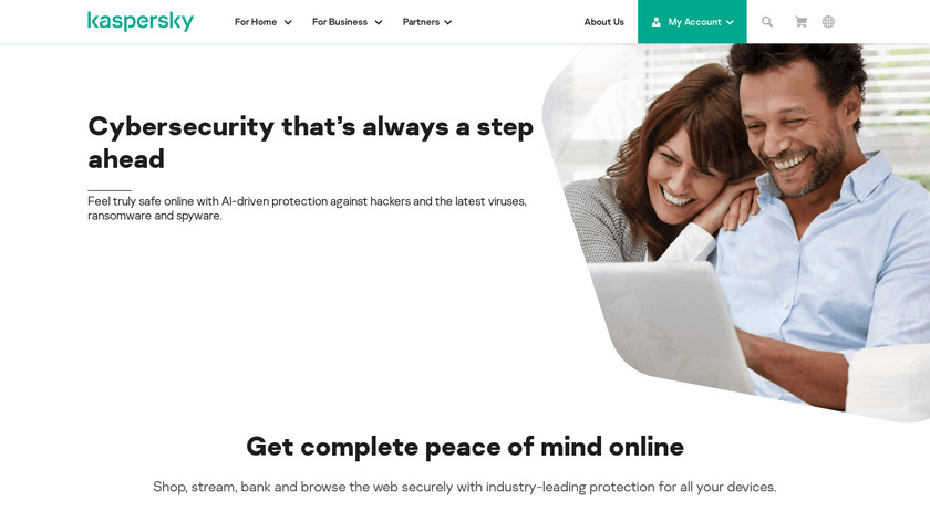 Kaspersky Endpoint Protection Landing Page