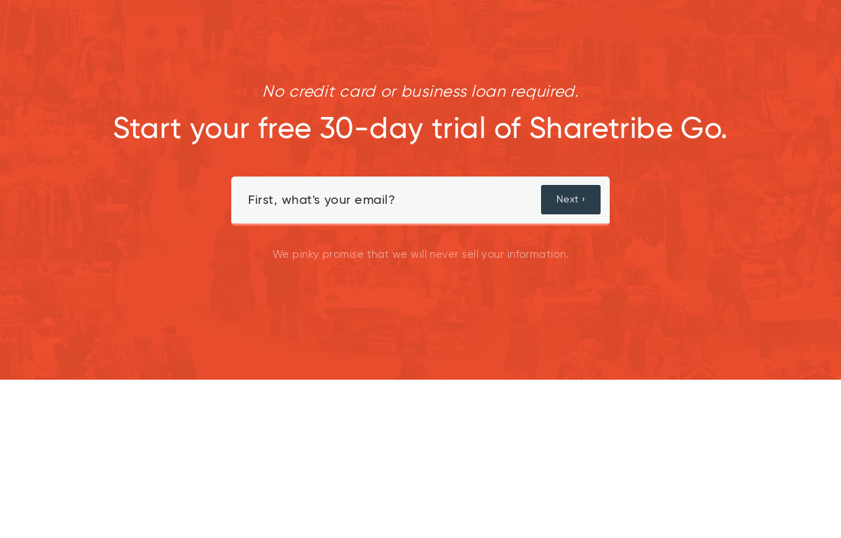 Sharetribe Pricing as of 2019-08-28