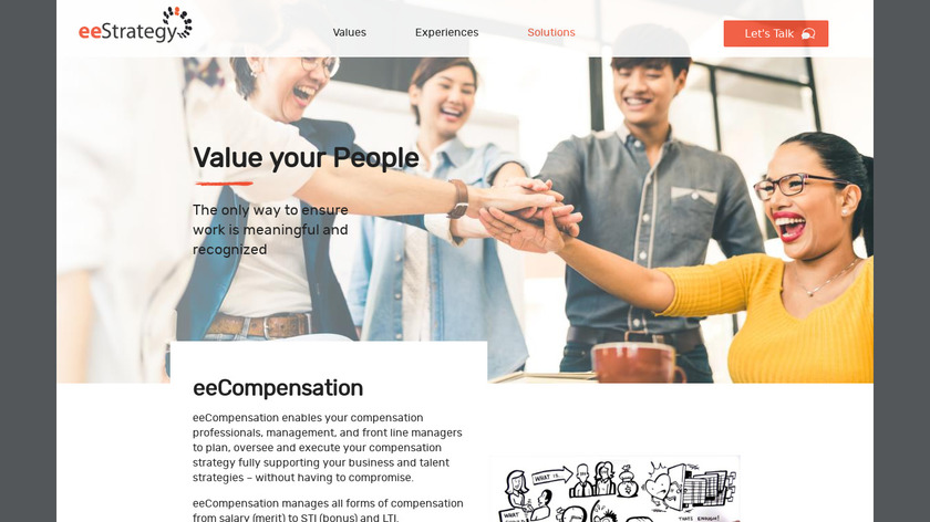 eeStrategy eeCompensation Landing Page