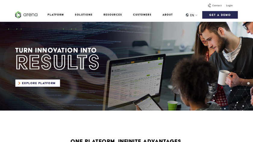 Omnify PLM Landing Page