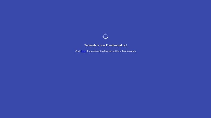 Tubenab Landing Page