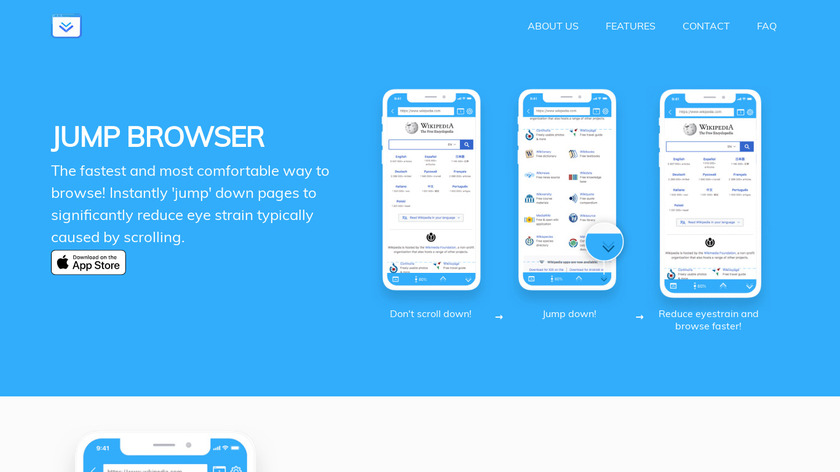 Jump Browser Landing Page