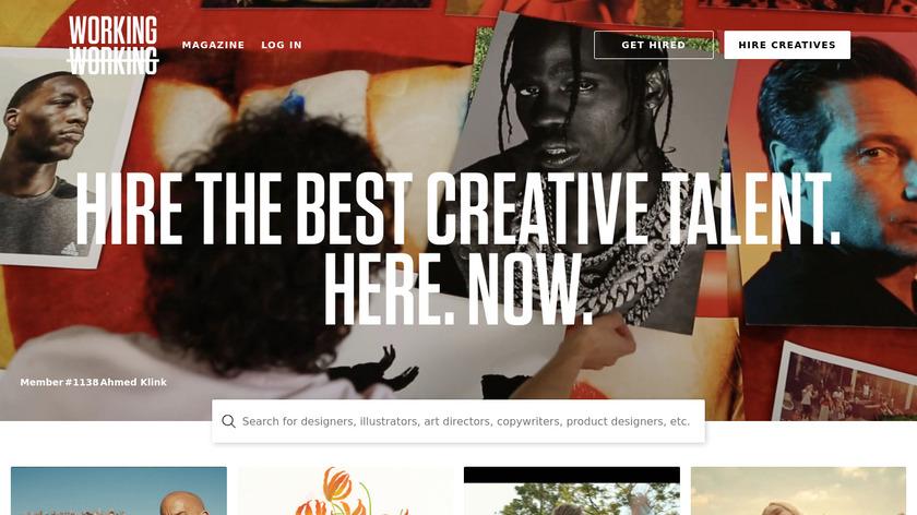 Working Not Working Landing Page