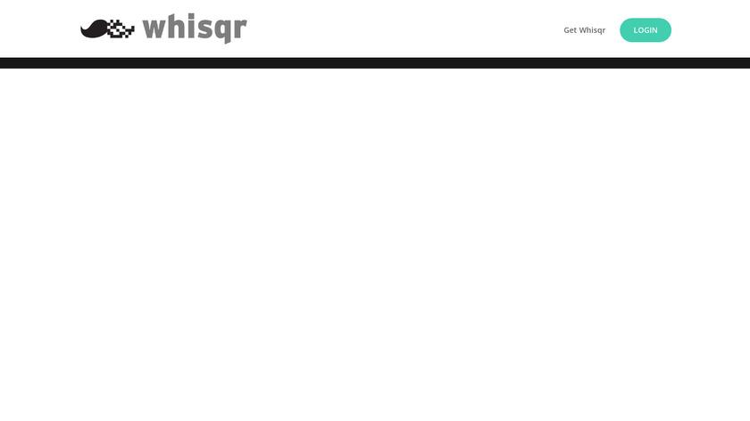 Whisqr Loyalty Program Landing Page