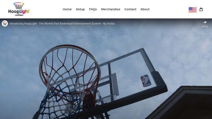 HoopLight Landing Page