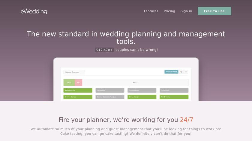 eWedding Landing Page