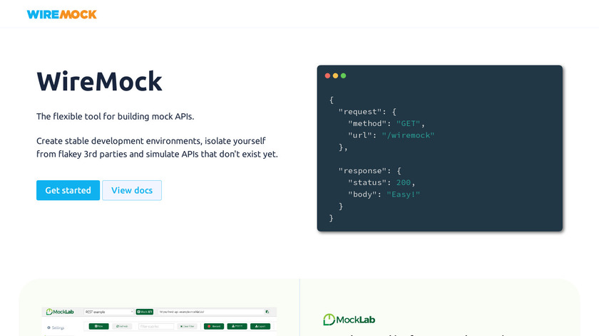 WireMock Landing Page
