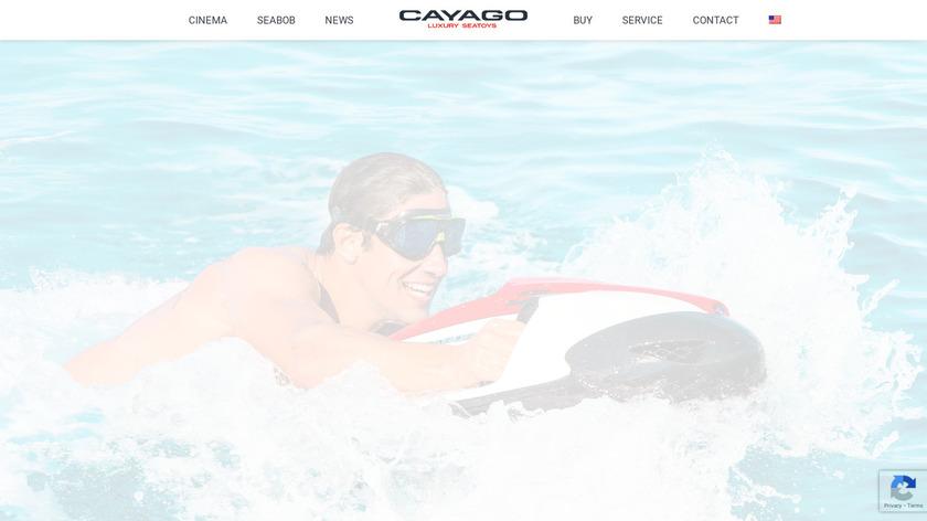 Seabob Landing Page