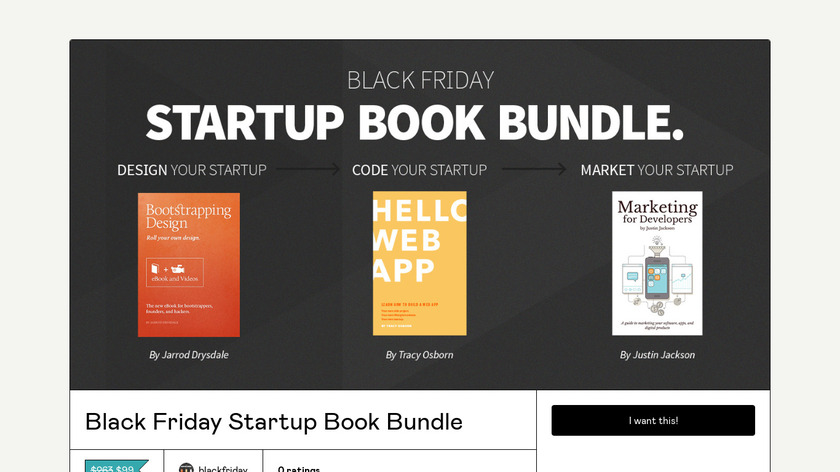 Startup Bundle Landing Page