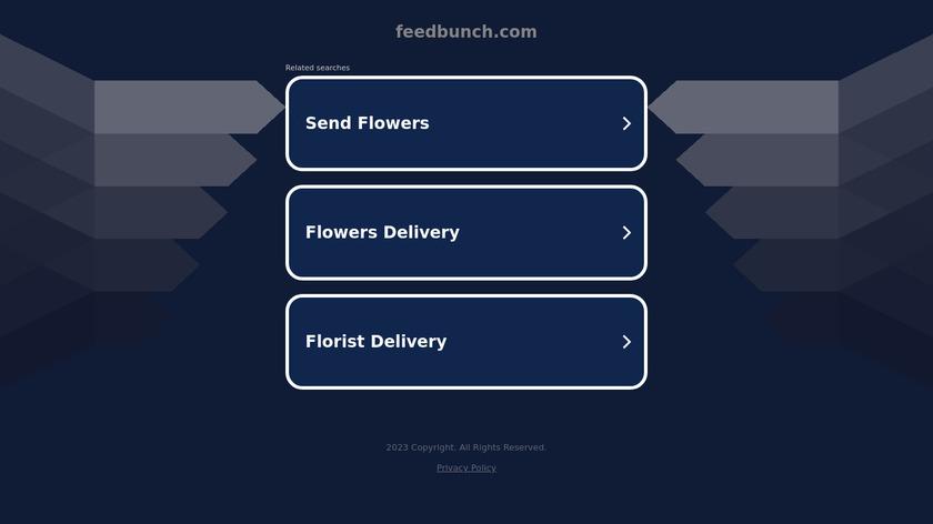Feedbunch Landing Page