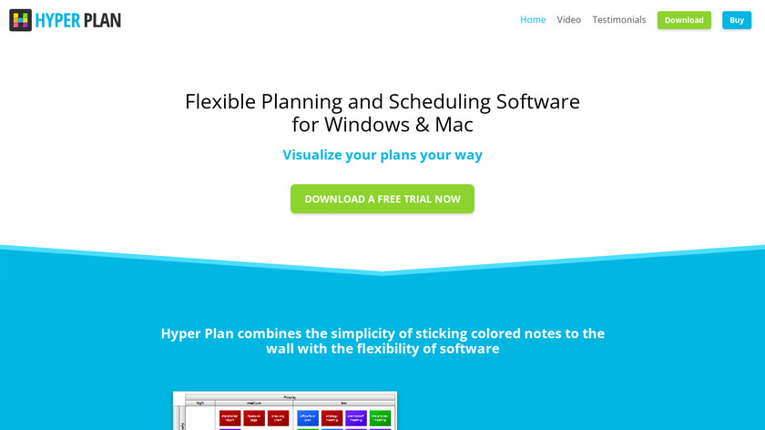 Hyper Plan Landing Page