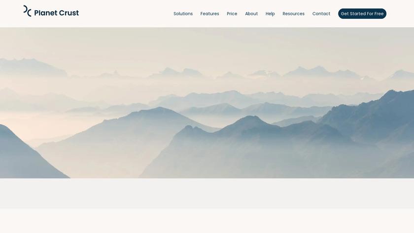 Crust Enterprise Messaging Landing Page
