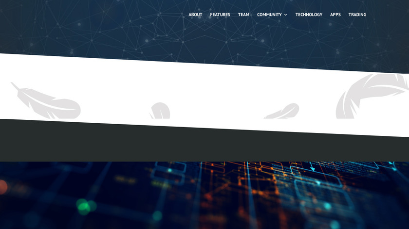 feathercoin Landing Page
