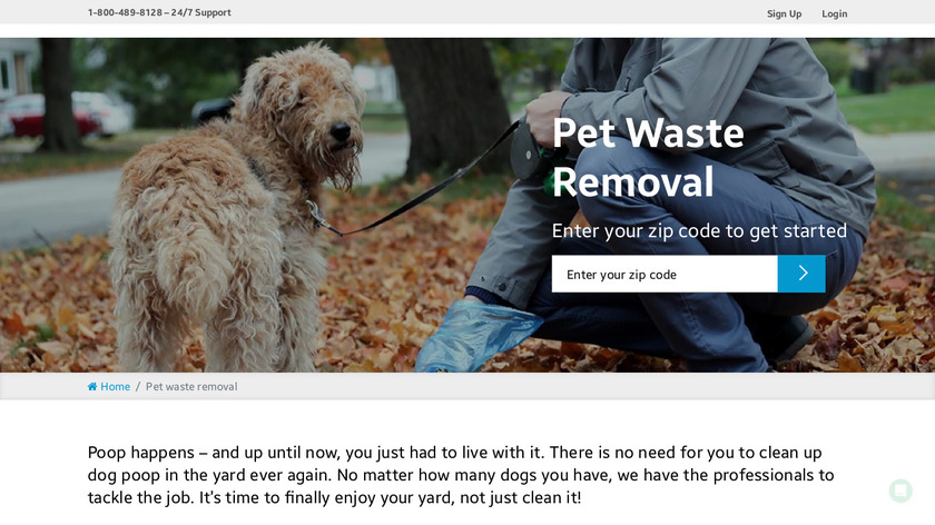 Poopz Landing Page