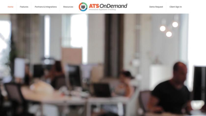 ATS OnDemand Landing Page