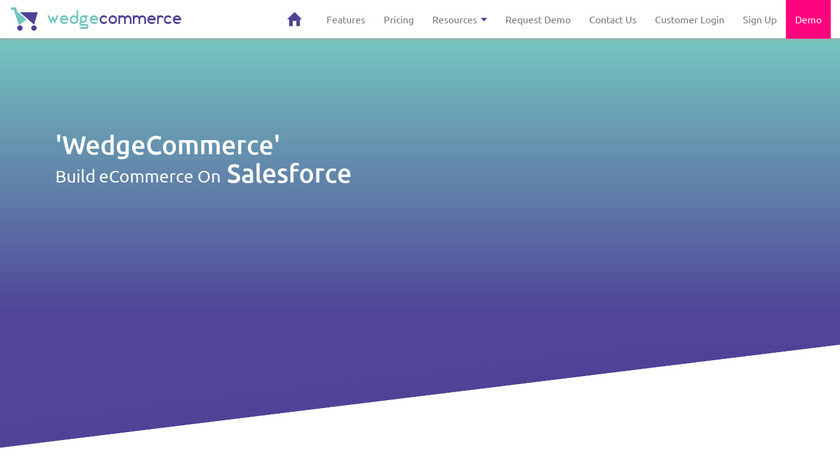 WedgeCommerce Landing Page