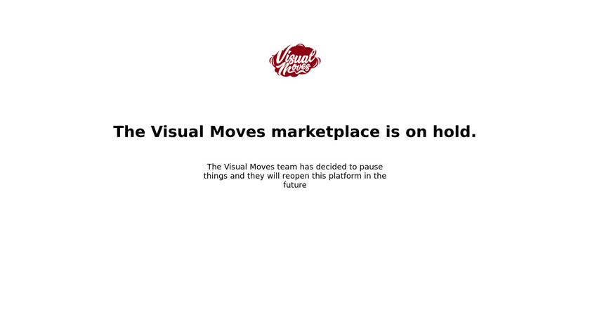 Visual Moves Landing Page
