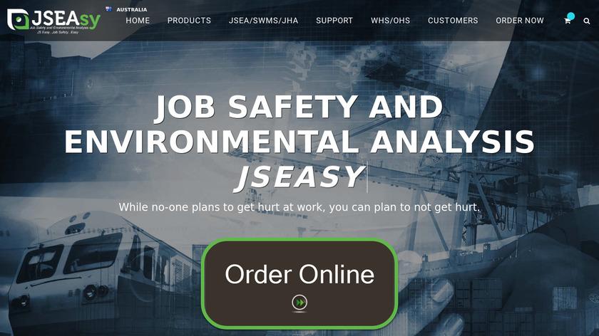 JSEAsy Landing Page