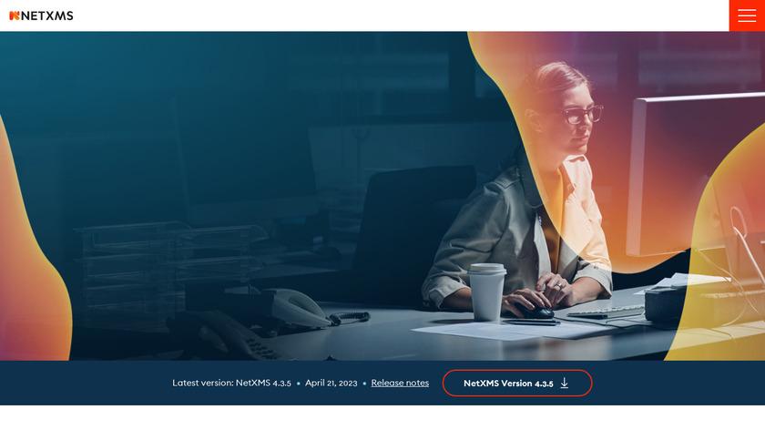 NetXMS Landing Page