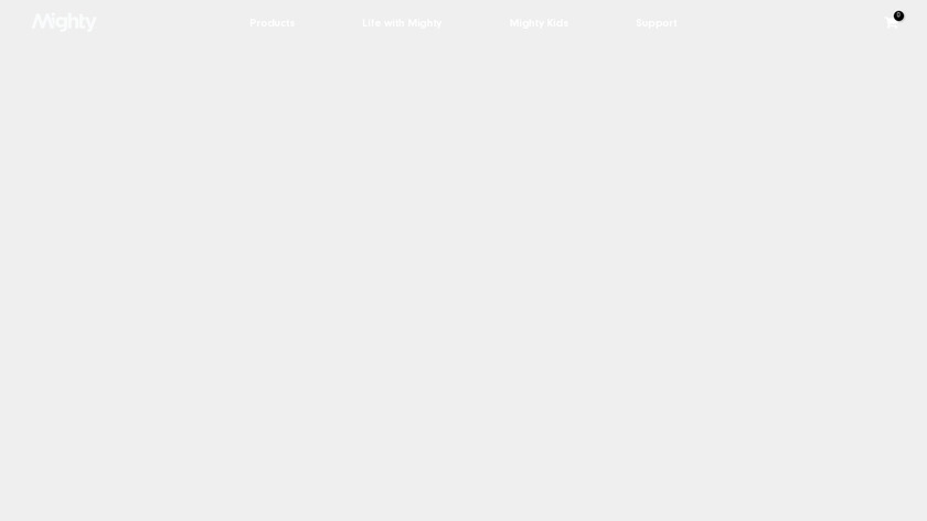 Mighty Landing Page