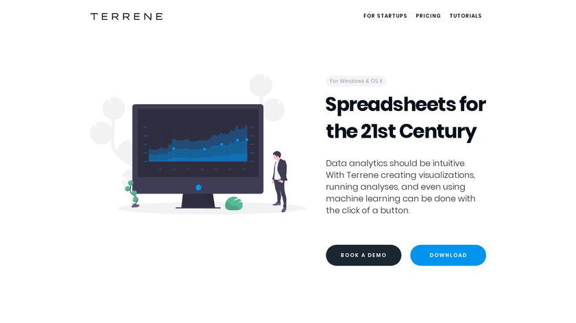 Terrene.co Landing Page