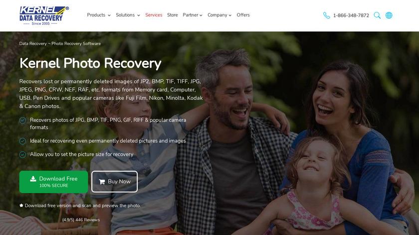 Kernel for Digital Media Landing Page