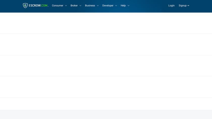 Escrow.com Landing Page