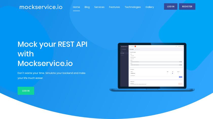 Mockservice.io Landing Page