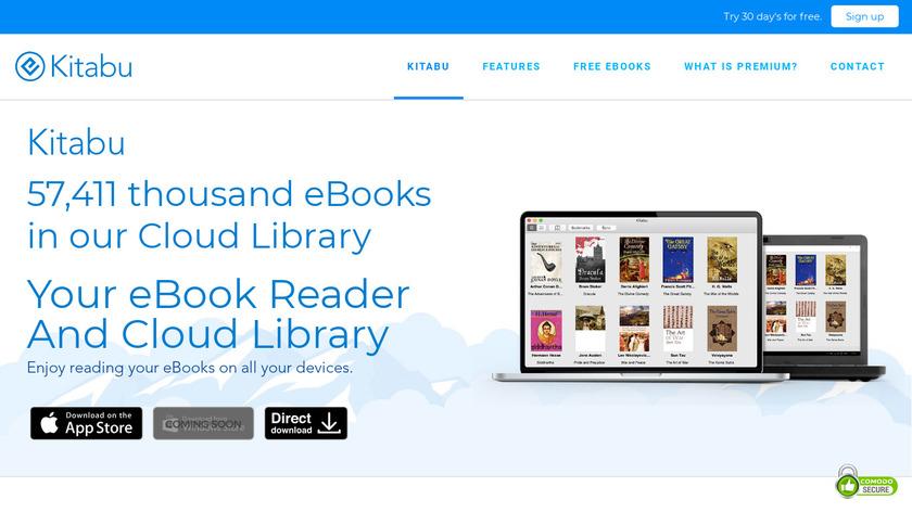 Kitabu Landing Page