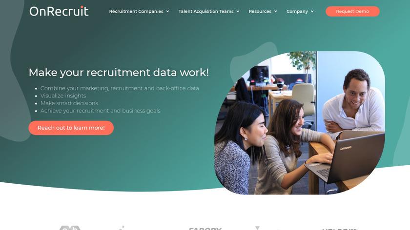 OnRecruit Landing Page